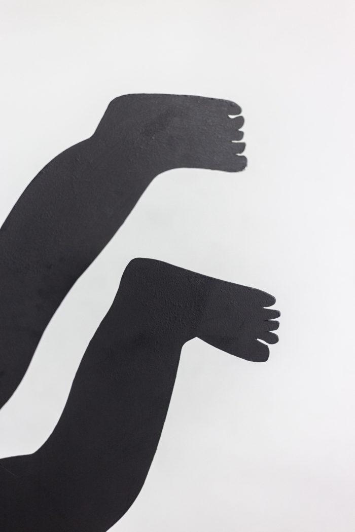 antonine de saint-pierre eva sculpture pieds