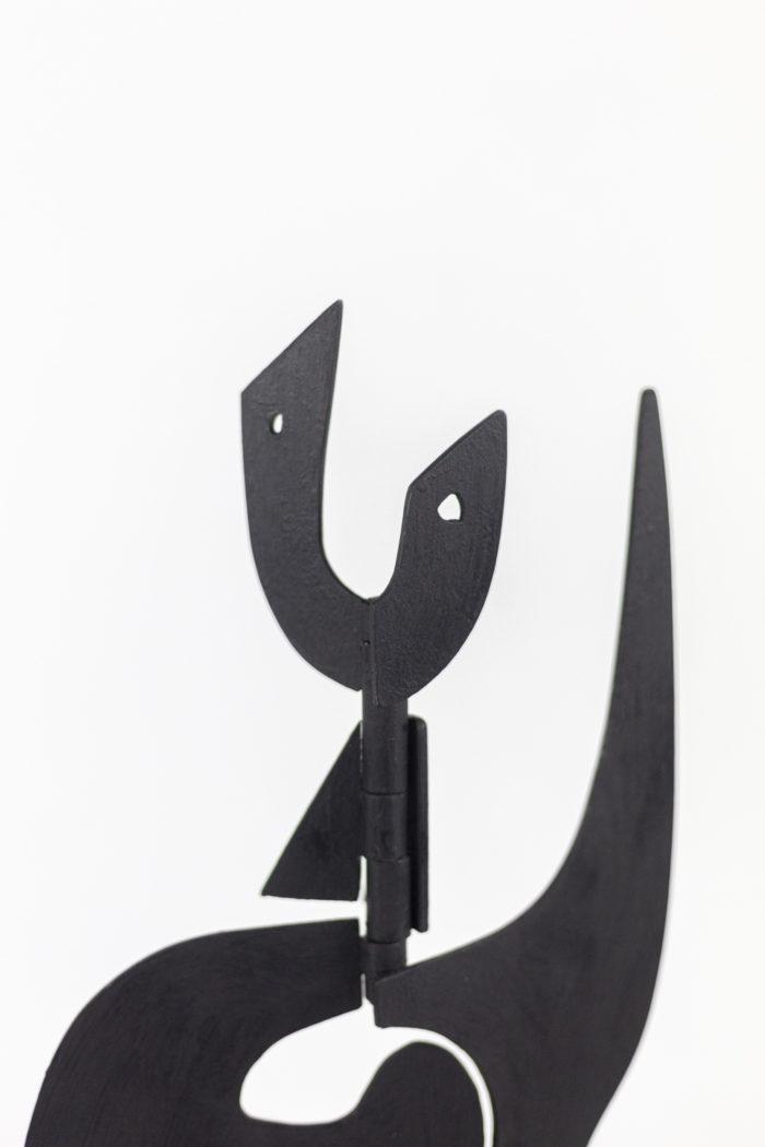 antonine de saint-pierre jouve sculpture métal