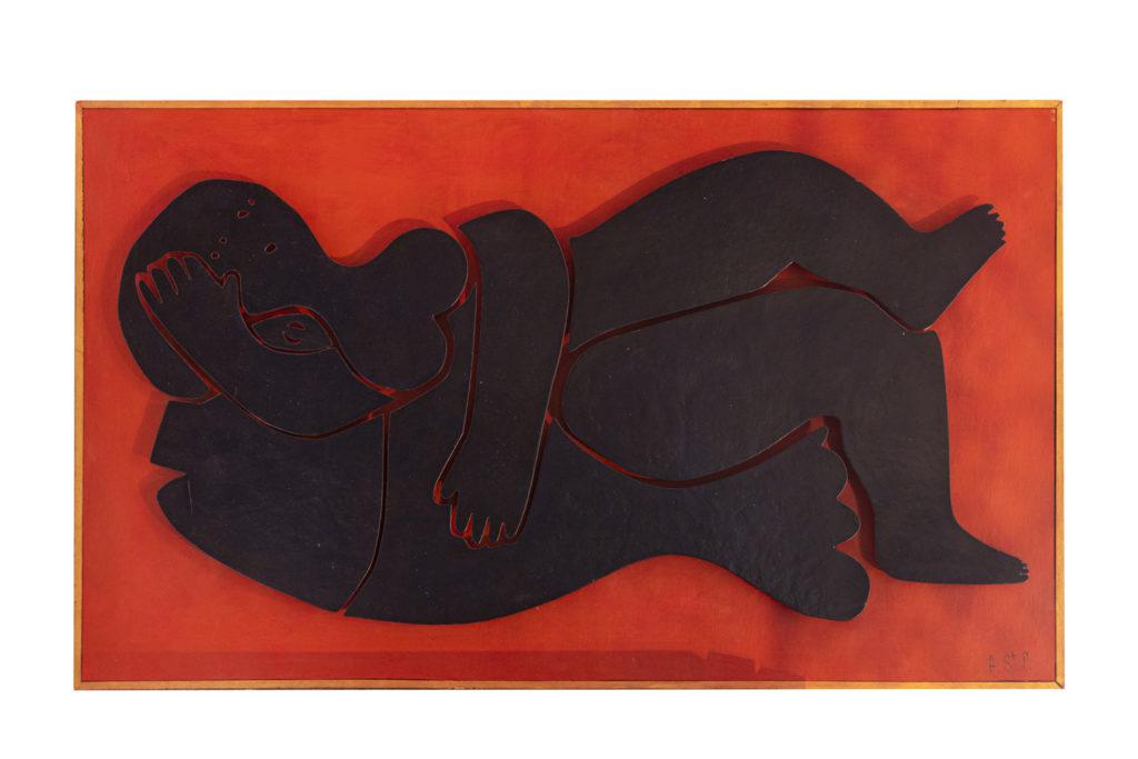 Antonine de Saint-Pierre, «La femme au poisson», travail contemporain