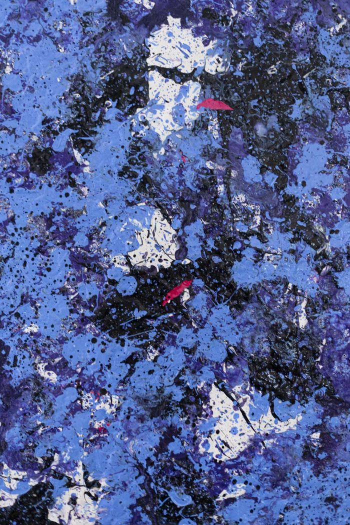 danhôo peinture abstraite travail contemporain pollock (2)