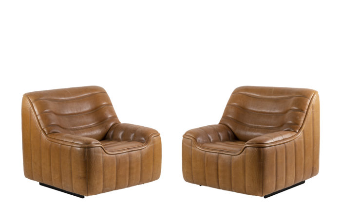 de sede ds46 armchairs brown leather