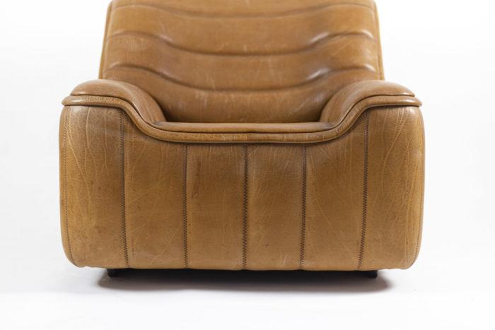 de sede fauteuils ds46 cuir marron bas