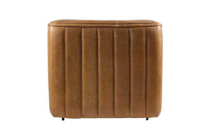 de sede fauteuils ds46 cuir marron dos