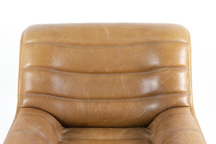 de sede fauteuils ds46 cuir marron dossier