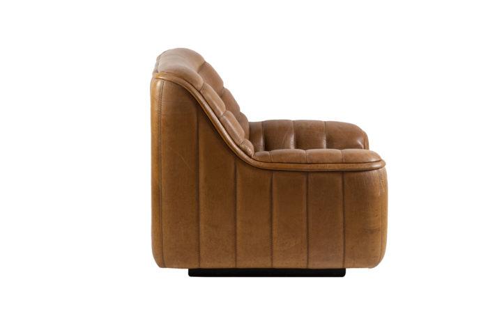 de sede fauteuils ds46 cuir marron side