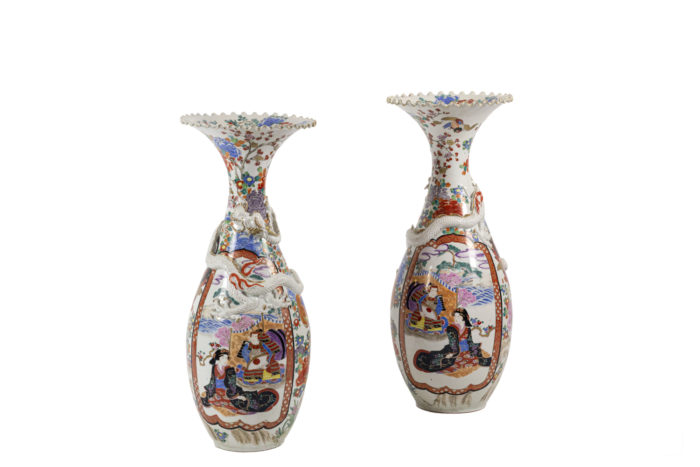 grands vases porcelaine chinoise