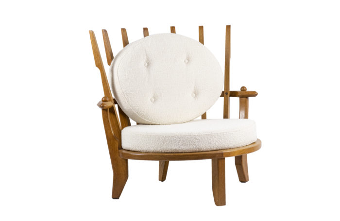 guillerme and chambron oak armchair