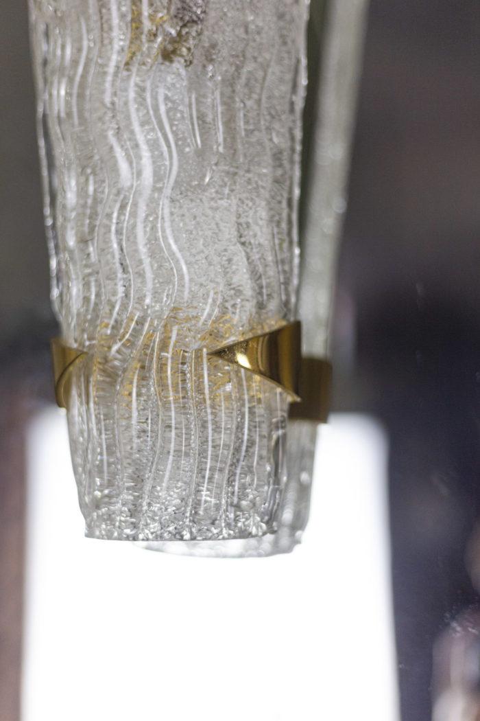 maison arlus appliques verre granité détail 2