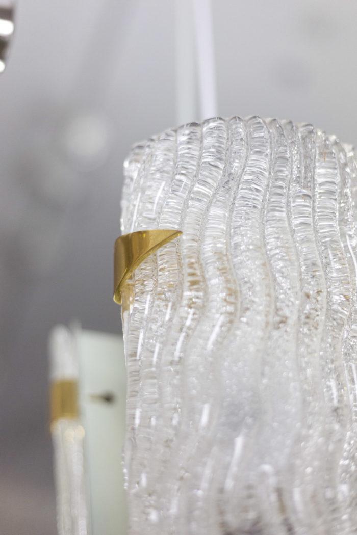 maison arlus appliques verre granité détail 3
