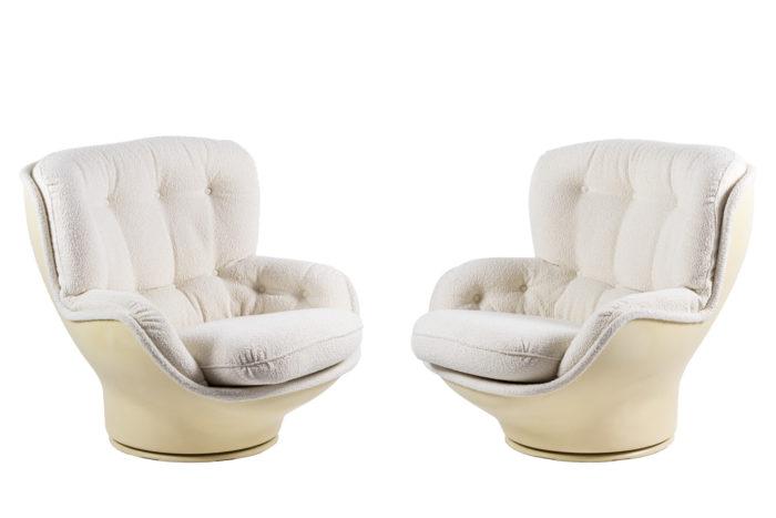 michel cadestin fauteuils karaté fibre de verre