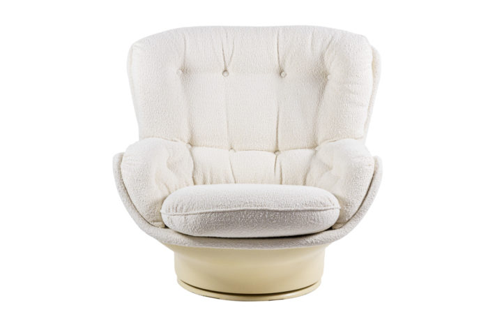 michel cadestin fauteuils karaté fibre de verre face