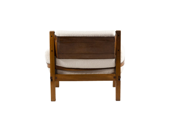 pierre chapo fauteuil s15 orme cuir back