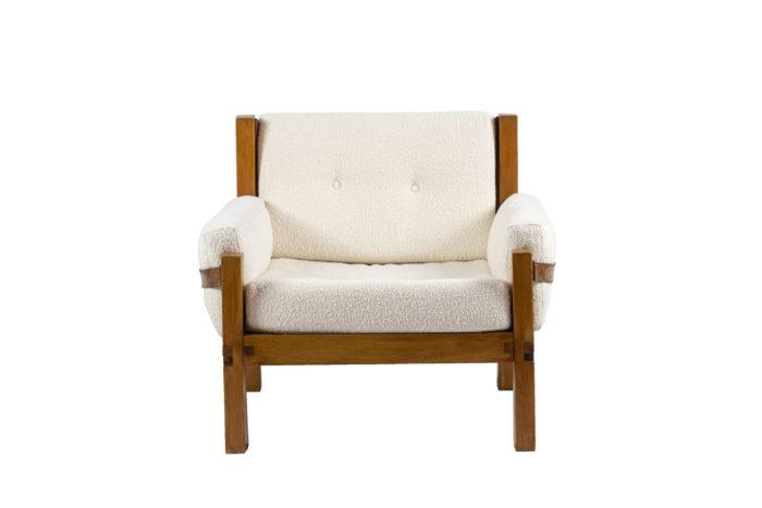pierre chapo fauteuil s15 orme cuir face