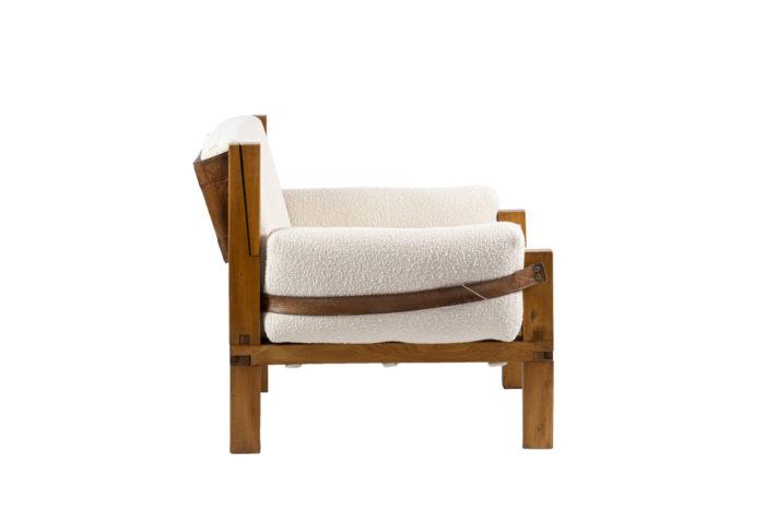 pierre chapo fauteuil s15 orme cuir side