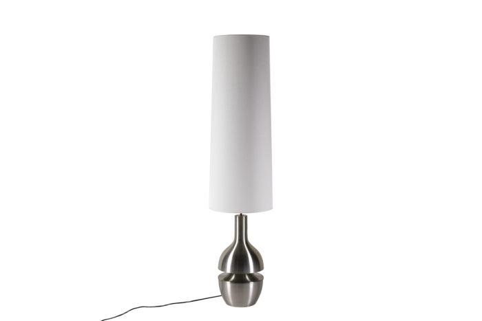 Lampe inox brossé éteinte