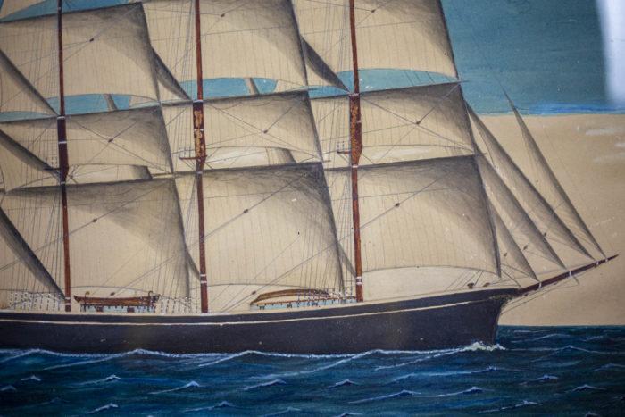 Marine Rispoli navire américain détail 1