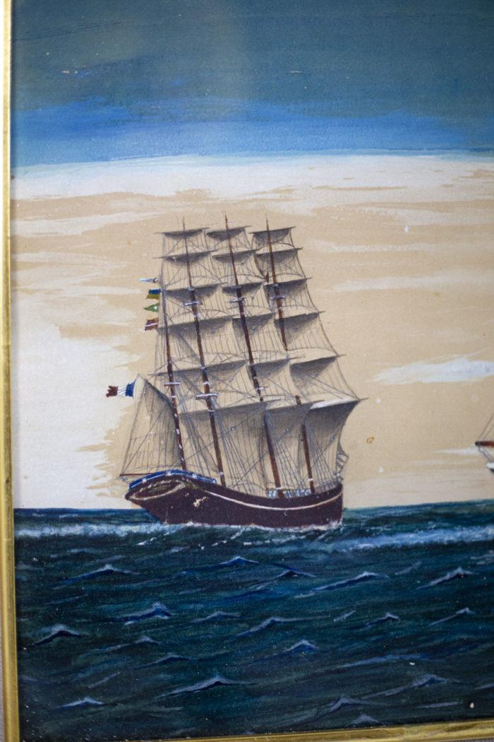 Marine Rispoli navire français