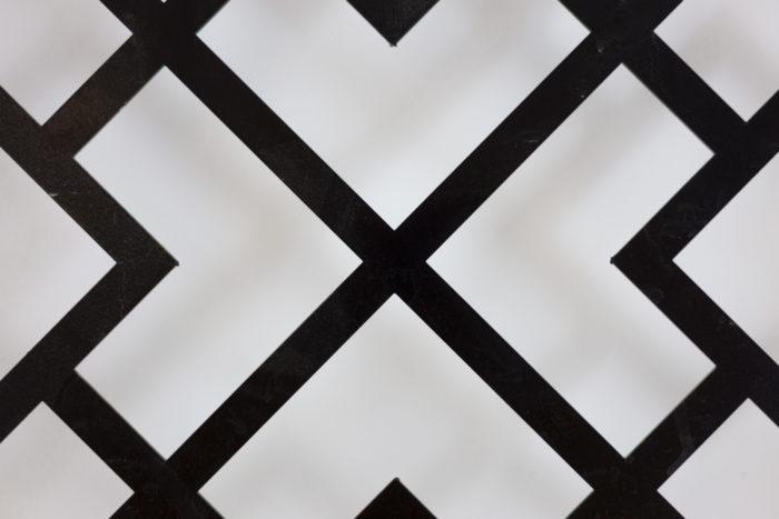 Panneau métal laqué détail 2