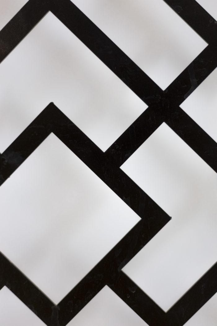 Panneau métal laqué détail 3