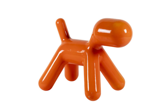 Puppy Eero Aarnio orange trois quarts