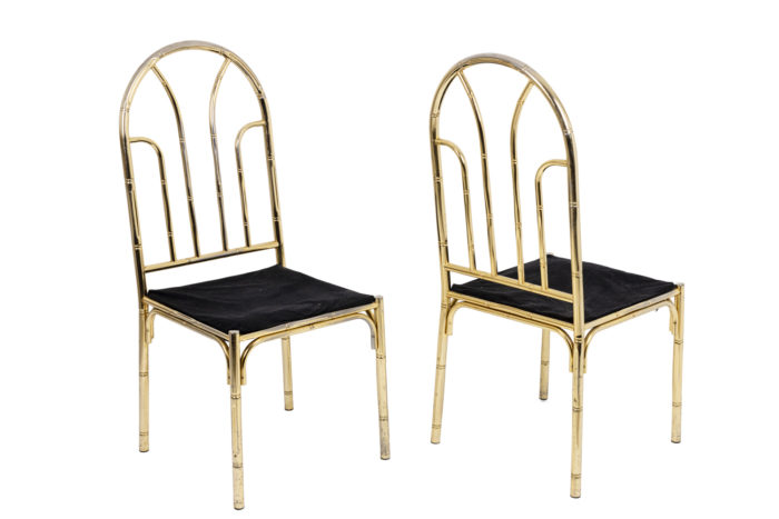 Table bambou chaises