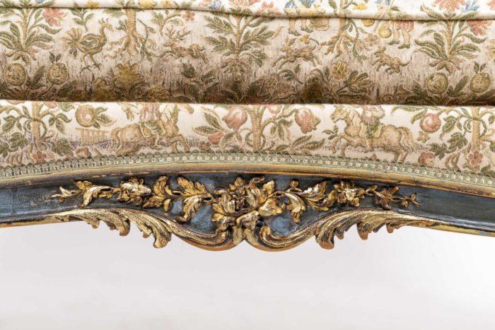 Canapé style Louis XV décor 3