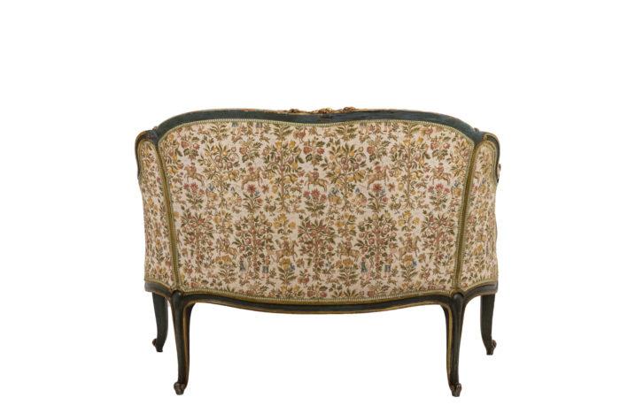 Canapé style Louis XV dos