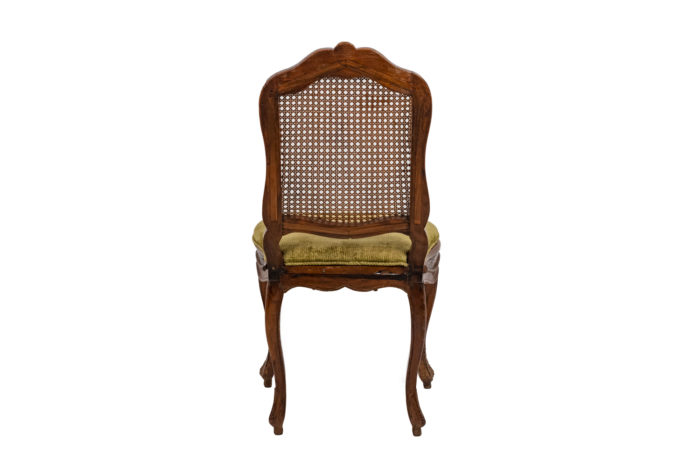 Chaise cannée Louis XV dos
