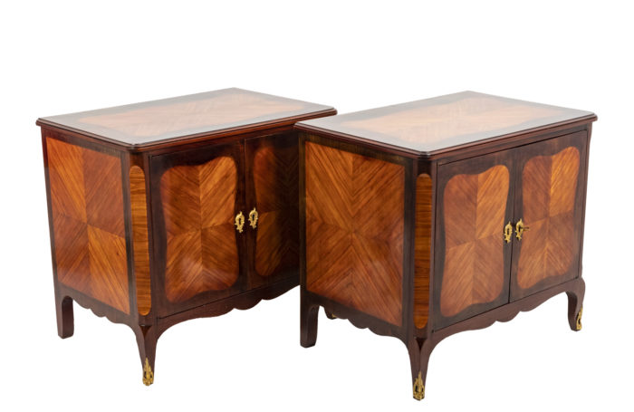 Pair of Louis XV buffets 1