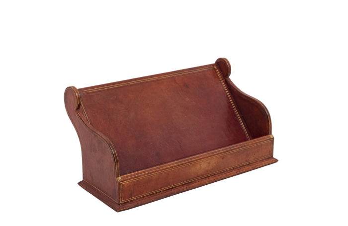 Leather letter holder 1