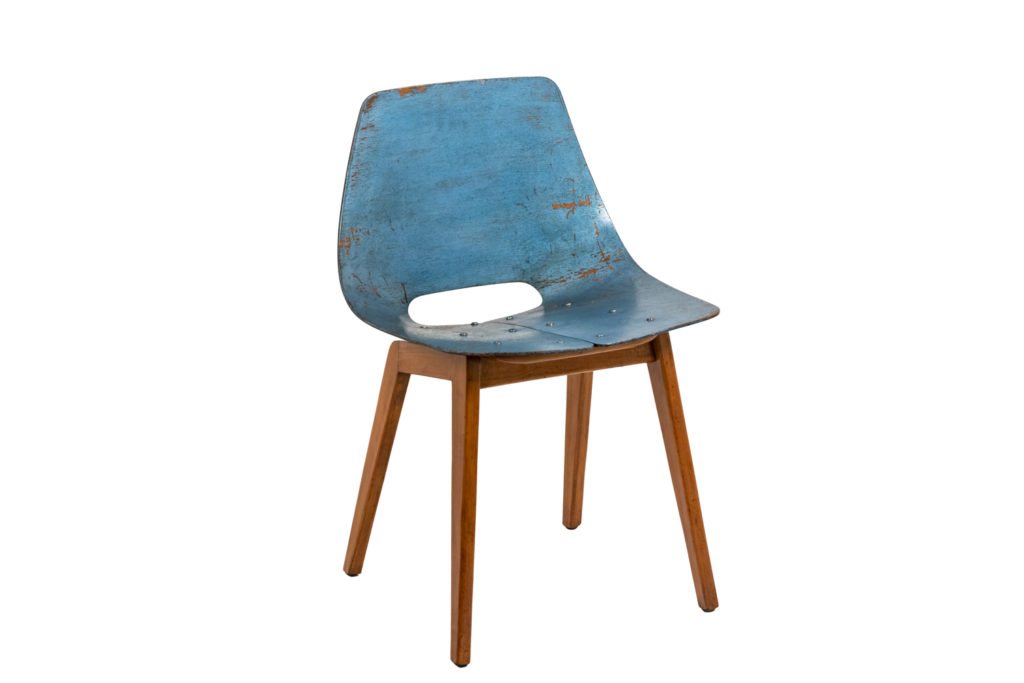 Pierre Guariche, Amsterdam chair in plywood, 1954