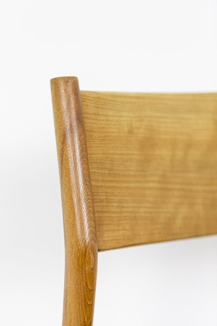 Chaise scandinave, dos