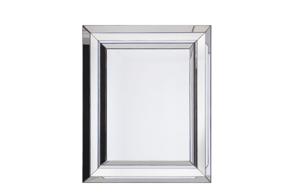 Miroir rectangulaire à parecloses, années 1970