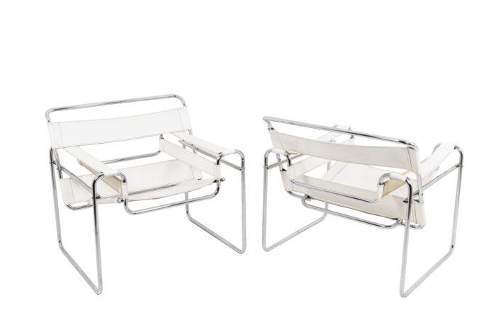 Paire de fauteuils, vu d'ensemble