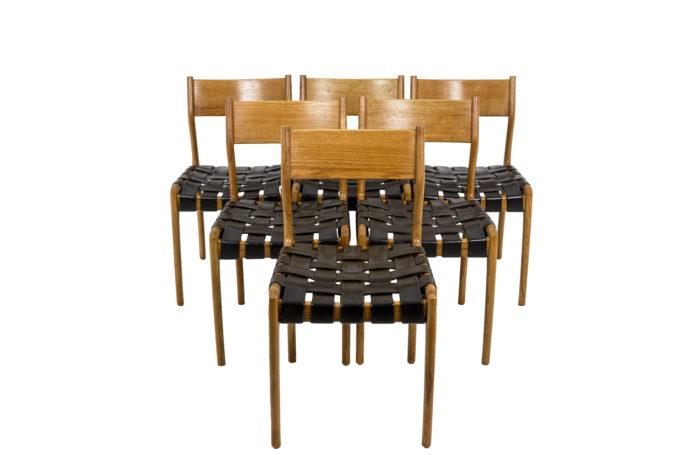 Chaise scandinave, série