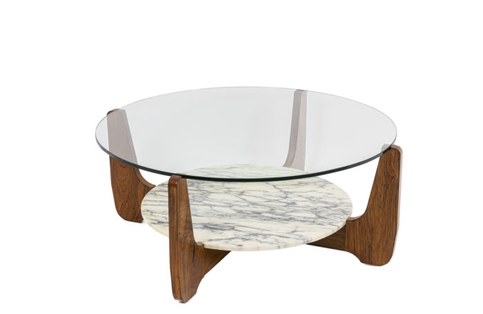 Coffee table in rosewood 1