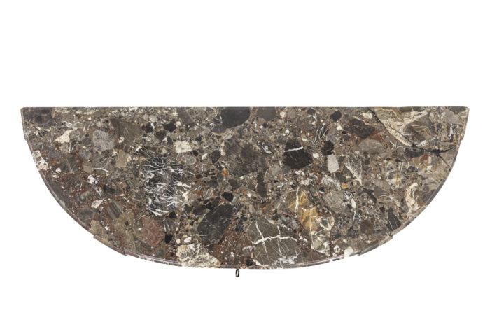 Console, détail marbre 1