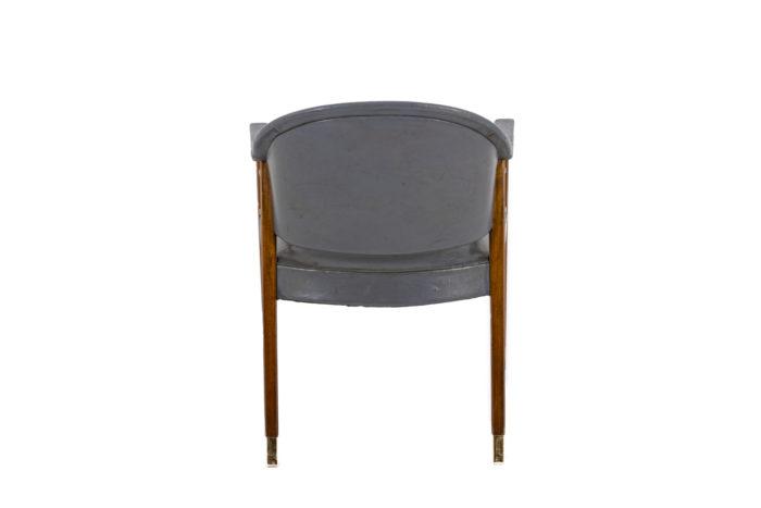 Paire de fauteuils, vu de dos