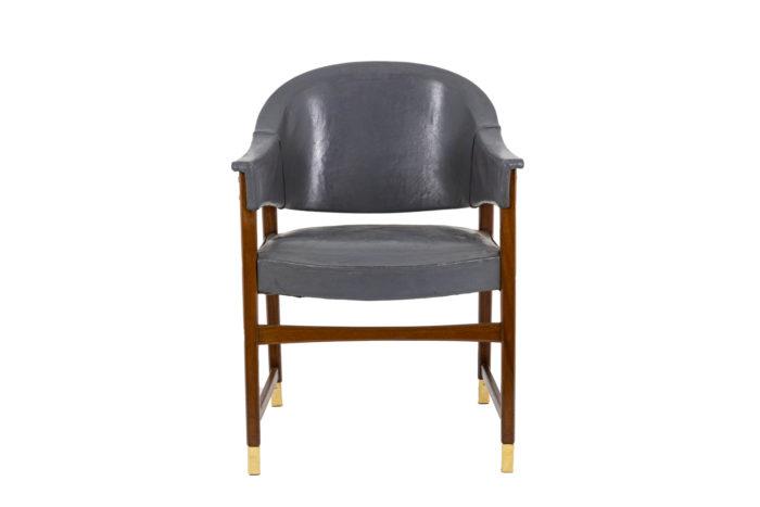 Paire de fauteuils, vu de face