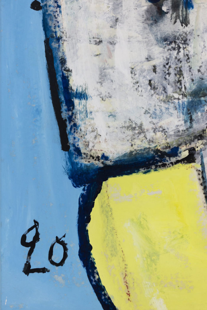 Dimitris Pavlopoulos, Asesinos en serie #5, acrylic on canvas 3