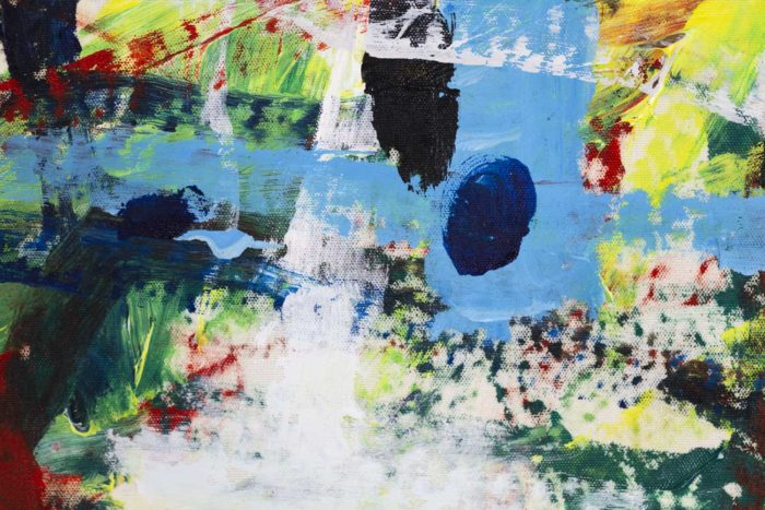 Dimitris Pavlopoulos, Asesinos en serie #5, acrylic on canvas 9