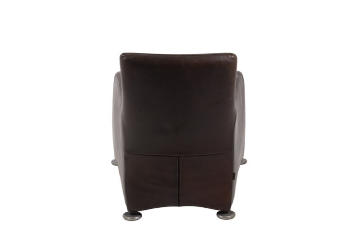 Fauteuil lounge, dos
