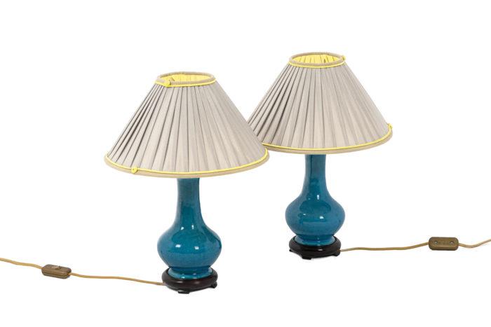 Pol Chambost, Pair of lamps in ceramics 1