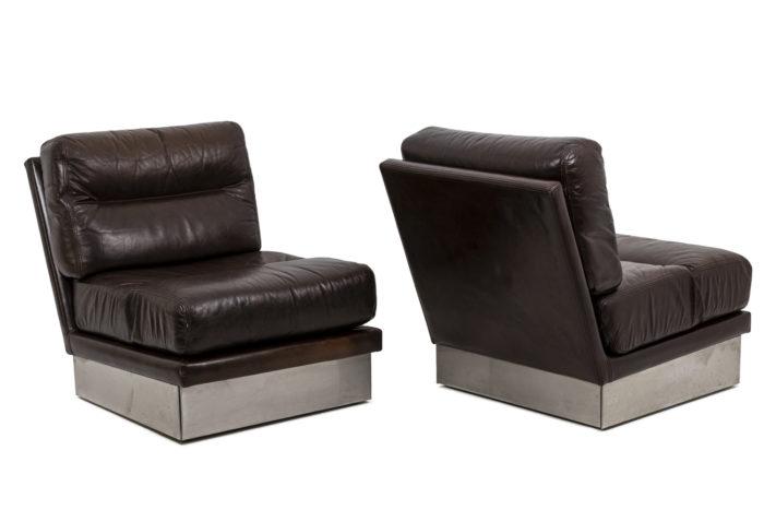 Paire de fauteuils, vue d'ensemble 1