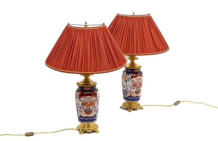 Paire de lampe, vu d'ensemble