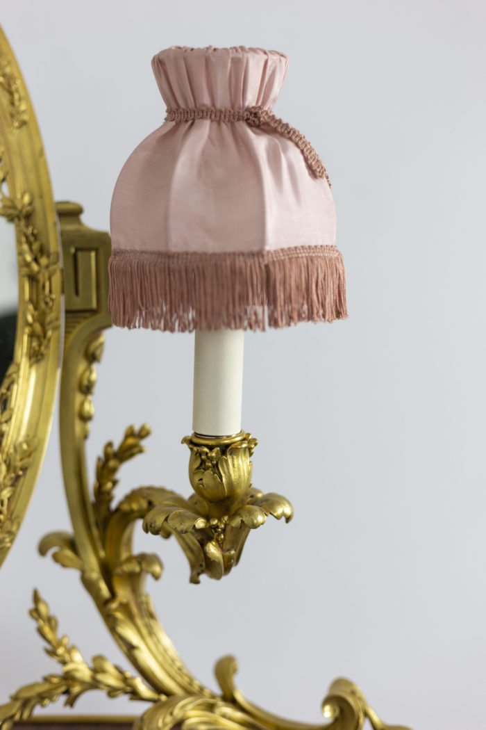 Charles Bernel, Louis XV style hairdresser in violet wood 13