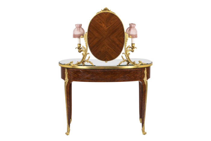 Charles Bernel, Louis XV style hairdresser in violet wood 14