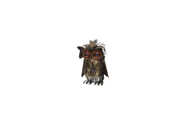 Owl in metal 1