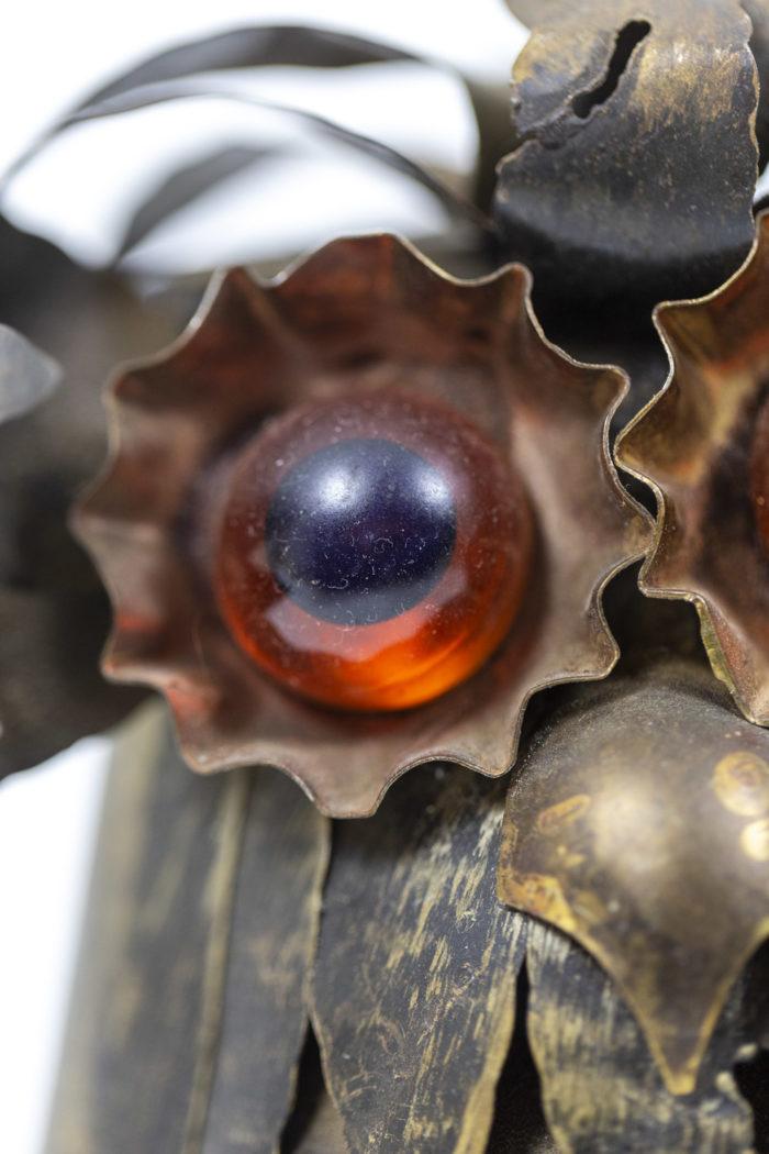Chouettes en feuilles de métal, détails 6