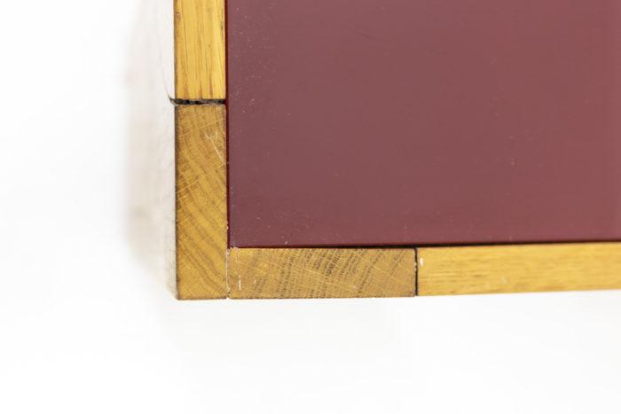 Wide coffee table in oak 7
